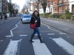 Made it across Abbey Road :) It's funny because you would never be able to tell from most photos, but this intersection is actually incredibly busy during the daytime. Thankfully drivers are very cautious and patient as all the tourists stop traffic to take their photos.